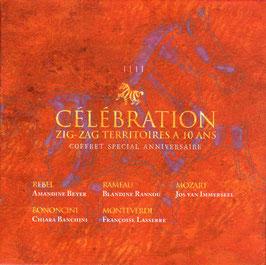 Celebration ZigZag Territoires a 10 ans: Monteverdi, Bononcini, Rebel, Rameau, Mozart (5CD, ZigZag)