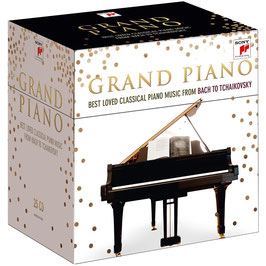 Grand Piano, Best Loved Classical Piano Music from Bach to Tchaikovsky (25CD, Sony)