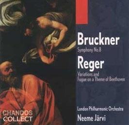 Anton Bruckner: Symphony No. 8, Reger: Variations and Fugue on a Theme of Beethoven (2CD, Chandos)