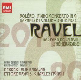 Maurice Ravel: Boléro, Piano Concerto in G, Daphnis et Chloé, Suite No. 2, Gaspard de la Nuit, Shéhérazade (2CD, EMI)