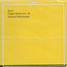 Johann Sebastian Bach: Organ Works of Doubtfull Authenticy I (CPO)