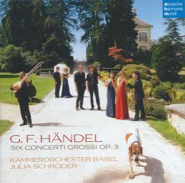 Georg Friedrich Händel: Six Concerti Grossi Op. 3 (Deutsche Harmonia Mundi)