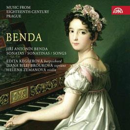 Jiri Antonin Benda: Sonatas, Sonatinas, Songs (Supraphon)