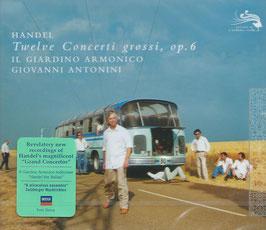 Georg Friedrich Händel: Twelve Concerti grossi, Op. 6 (3CD, L'Oiseau-Lyre)