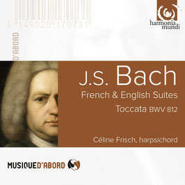 Johann Sebastian Bach: French & English Suites, Toccata BWV 812 (Harmonia Mundi)