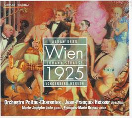 Wien 1925: Strauss, Alban Berg, Schönberg, Webern (Mirare)