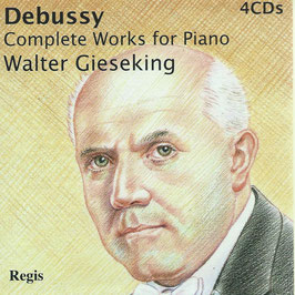 Claude Debussy: Complete Works for Piano (4CD, Regis)