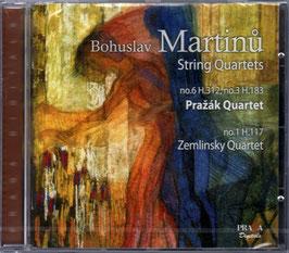 Bohuslav Martinu: String Quartets (SACD, Praga)