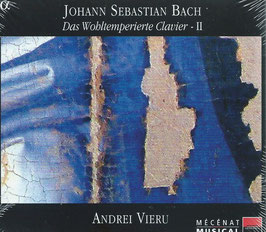 Johann Sebastian Bach: Das Wohltemperierte Clavier II (3CD, Alpha)