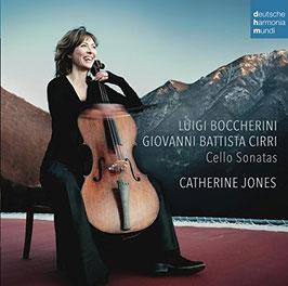Ignazio Cirri, Luigi Boccherini: Cello Sonatas (Deutsche Harmonia Mundi)