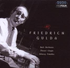 Friedrich Gulda: Bach, Beethoven, Mozart, Chopin, Debussy, Prokofiev (4CD, Membran)