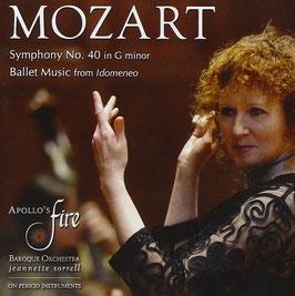 Wolfgang Amadeus Mozart: Symphony No. 40 in G minor, Ballet Music from Idomeneo (Avie)