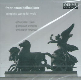 Franz Anton Hoffmeister: Complete works for viola (Oehms)