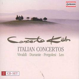 Italian Concertos: Antonio Vivaldi, Francesco Durante, Leonardo Leo, Giovanni Battista Pergolesi (Capriccio)