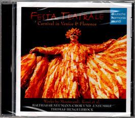 Festa Teatrale, Carnival in Venice & Florence (Deutsche Harmonia Mundi)