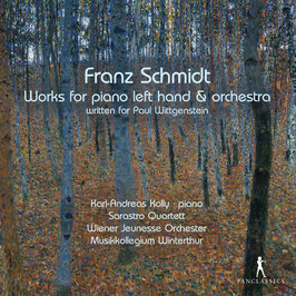 Franz Schmidt: Works for piano left hand & orchestra (2CD, Pan Classics)