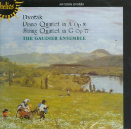 Antonín Dvorák: Piano Quintet in A Op 81, String Quintet in G Op 77 (Hyperion Helios)
