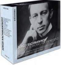 Sergei Rachmaninoff: Complete Works for Piano Solo (5CD, Etcetera)