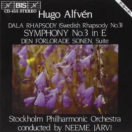 Hugo Alfvén: Dala Rhapsody, Symphony no. 3, Den förlorade sonen (BIS)