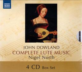 John Dowland: Complete Lute Music (4CD, Naxos)