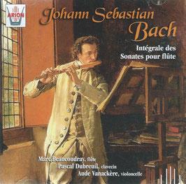 Johann Sebastian Bach: Intégrale des Sonates pour flute (2CD, Arion)