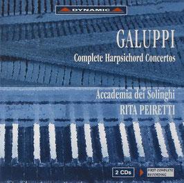 Baldassare Galuppi: Complete Harpsichord Concertos (2CD, Dynamic)