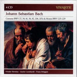 Johann Sebastian Bach: Cantatas BWV 27, 34, 41, 56, 82, 206, 207a & Motets BWV 225-229 (4CD, Sony Vivarte)