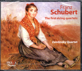 Franz Schubert: The First String Quartets (4CD, Praga)