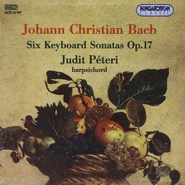Johann Christian Bach: Six Keyboard Sonatas Op. 17 (Hungaroton)
