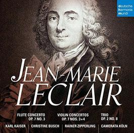 Jean Marie Leclair: Flute Concerto Op. 7 No. 3, Violin Concertos Op. 7 Nos. 3+4, Trio Op. 2 No. 8 (Deutsche Harmonia Mundi)