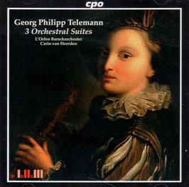 Georg Philipp Telemann: 3 Orchestral Suites (CPO)