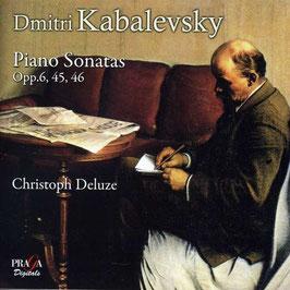 Dmitri Kabalevsky: Piano Sonatas Opp. 6, 45, 46 (SACD, Praga)