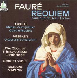 Gabriel Fauré: Requiem, Cantique de Jean Racine, Maurice Duruflé: Messe Cum jubilo, Quatre Motets, Olivier Messiaen: O sacrum convivium (Conifer Classics)