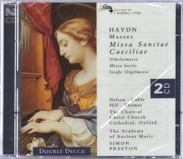 Franz Joseph Haydn: Missa Sanctae Caeciliae, Nikolaimesse, Missa brevis, Grosse Orgelmesse, Masses (2CD, L'Oiseau-Lyre)