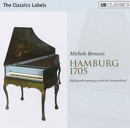 Hamburg 1705, Eighteeth-century works for harpsichord (LIR Classics)