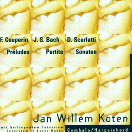 Jan Willem Koten: Préludes, Partita, Sonaten (Bella Musica)