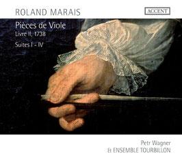 Roland Marais: Pièces de Viole, Livre II, 1738, Suites I-IV (Accent)