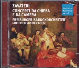 Lorenzo Gaetano Zavateri: Concerti da Chiesa e da Camera (2CD, Deutsche Harmonia Mundi)