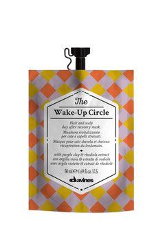 THE WAKE-UP CIRCLE maschera rivitalizzante per cute e capelli stressati