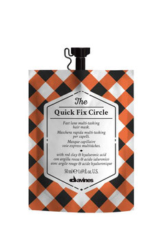 THE QUICK FIX CIRCLE - maschera rapida multi-tasking per capelli
