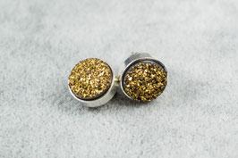 Ref.: 00227  Aretes en plata y druzzi
