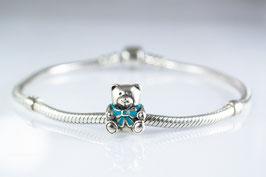 Ref.: 00376 Charms de plata925 y enamel.