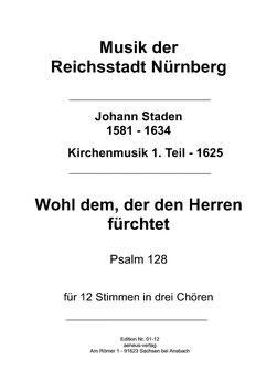 Wohl dem, der den Herren fürchtet  (Psalm 128)