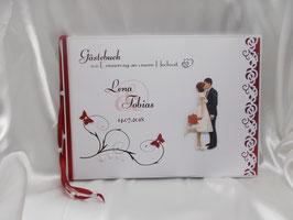 Gästebuch zur Hochzeit Brautpaar Nr. 1