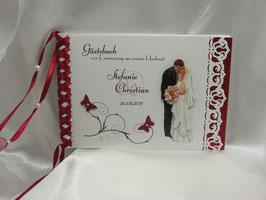 Gästebuch zur Hochzeit Nr. G001 viele Farben