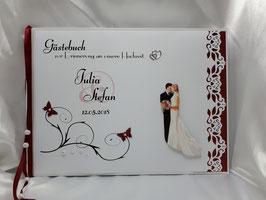 Gästebuch Hochzeit Brautpaar Nr. 6