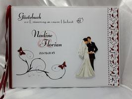 Gästebuch zur Hochzeit Brautpaar Nr. 5