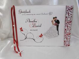 Gästebuch zur Hochzeit Brautpaar Nr. 2