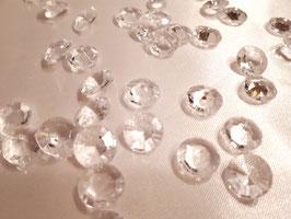 Streudeko Diamanten  Kunststoff Kristallfarbe