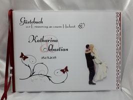 Gästebuch zur Hochzeit Brautpaar Nr. 4